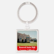 rooseveltjuniorhigh Square Keychain