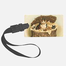 Kitties in Basket Luggage Tag