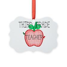 TShirts etc Apple 3rd grade Ornament