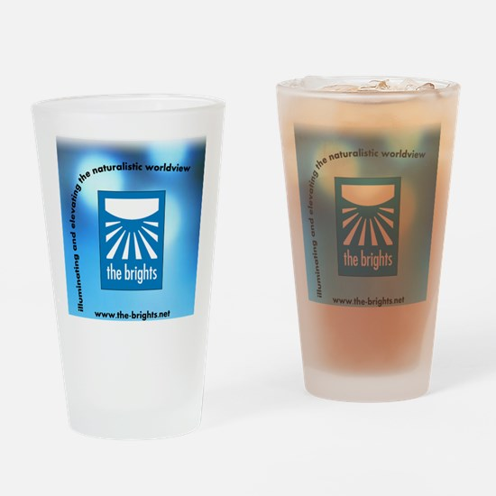 logo url tag 3 bkg Drinking Glass