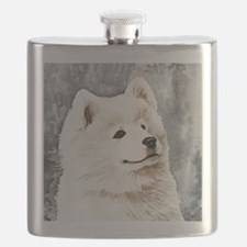 Samoyed Puppy Flask