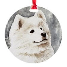 Samoyed Puppy Ornament