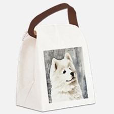 Samoyed Puppy Canvas Lunch Bag