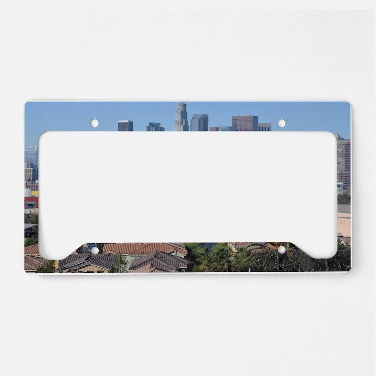 downtown-la License Plate Holder