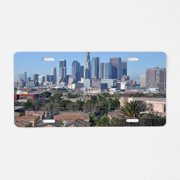 downtown-la Aluminum License Plate