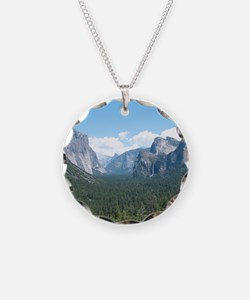 tunnel-view-clock Necklace