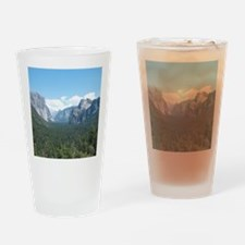 tunnel-view-clock Drinking Glass