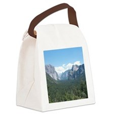 tunnel-view-clock Canvas Lunch Bag
