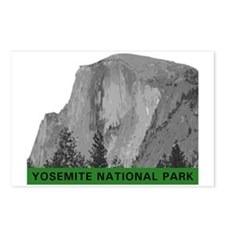 half-dome-ynp-b Postcards (Package of 8)