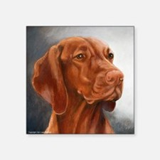 "Vizsla Square Sticker 3"" x 3"""