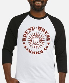 round-house-red-T Baseball Jersey