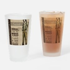 SaintDiegoGraphic copy Drinking Glass