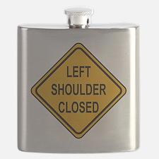 Left Shoulder Closed Flask