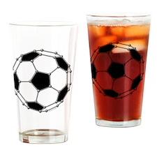 Buckyball soccer Drinking Glass