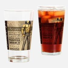 StormDiegoGraphic Drinking Glass
