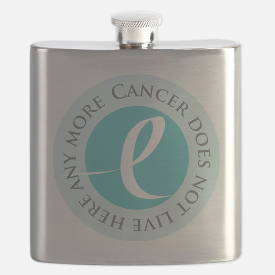 Cancer-doesnt-teal Flask