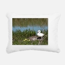 14x10framedprint_Mute Sw Rectangular Canvas Pillow