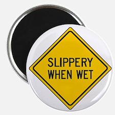 slippery when wet.gif Magnet