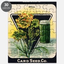 Dill Herbs antique seed packet Puzzle