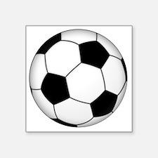 "Soccer_ball Square Sticker 3"" x 3"""