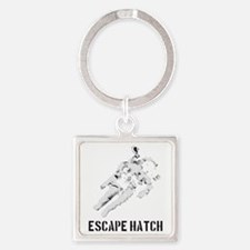EH2.gif Square Keychain