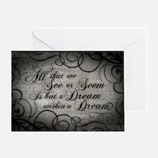 dream-within-a dream_12x18 Greeting Card