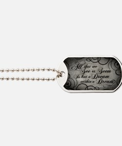 dream-within-a dream_12x18 Dog Tags