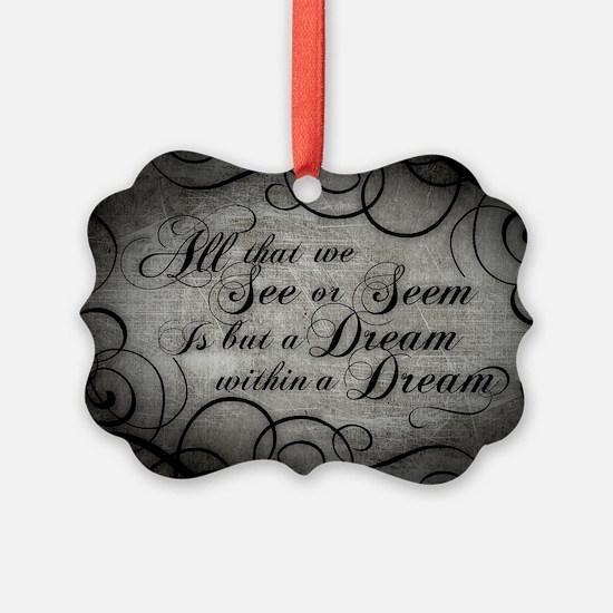 dream-within-a dream_12x18 Ornament