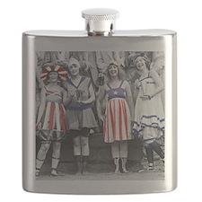 Bathing Beauties Flask