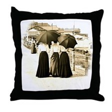 Gibson Girls Throw Pillow