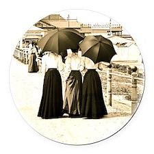 Gibson Girls Round Car Magnet