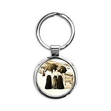 Gibson Girls Round Keychain