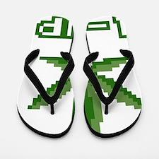 1Up Weed Flip Flops