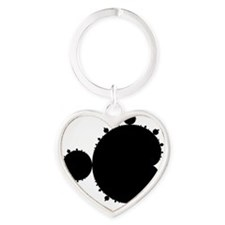 large_fractal_mug01c Heart Keychain