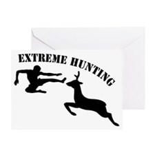 2-EXTREME HUNTING Greeting Card