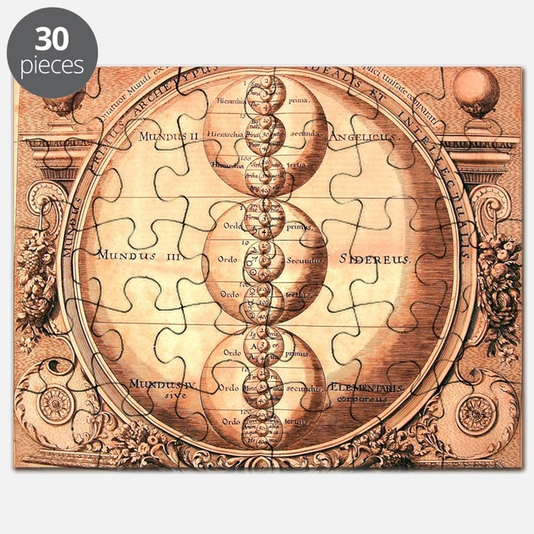 Alchemy Medieval Chart Puzzle