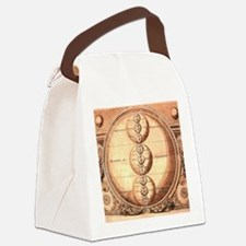 Alchemy Medieval Chart Canvas Lunch Bag