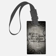 dream-within-a dream_j Luggage Tag