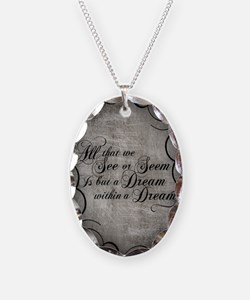 dream-within-a dream_j Necklace Oval Charm