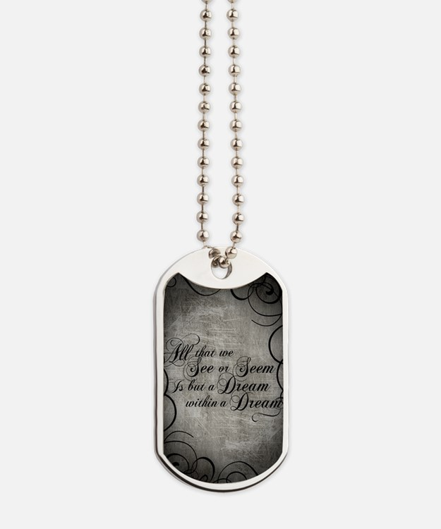 dream-within-a dream_j Dog Tags