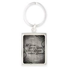 dream-within-a dream_j Portrait Keychain