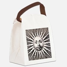 Medieval Sun Canvas Lunch Bag
