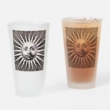 Medieval Sun Drinking Glass