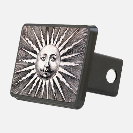 Medieval Sun Rectangular Hitch Cover