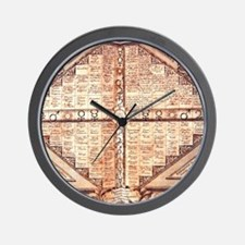 Astrological Weather Chart Wall Clock