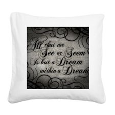 dream-within-a dream_13-5x18 Square Canvas Pillow