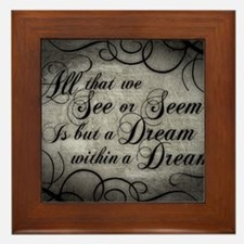 dream-within-a dream_13-5x18 Framed Tile