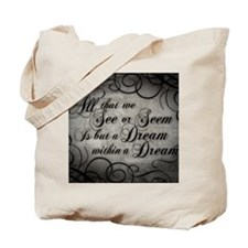 dream-within-a dream_13-5x18 Tote Bag