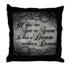 dream-within-a dream_13-5x18 Throw Pillow