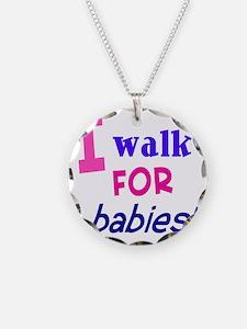 walk4babies01 Necklace